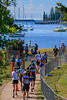 Port Macquarie Ironman (Claude Downunder) Tags: portmacquarie ironman triathalon running boats hastings hastingsriver nsw australia ironman703 competition race athletes river