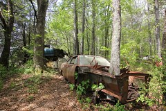 IMG_5774 (mookie427) Tags: urbex urban explore exploration explorers exploring ue derelict abandoned decay decayed ruin ruined car graveyard scrapyard old junkyard rusty rusted classic cars city georgia usa