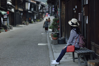Tranditional Japanness Street ,奈良井