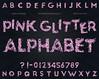 Pink Glitter Alphabet Clipart Clip Art - digital pink, rose, glitter letters, alphabet, pink, alpha, glitter font, scrapbook (Digiworkshop) Tags: etsy digiworkshop scrapbooking illustration creative clipart printables cardmaking glitter alphabet letters pink digital alpha