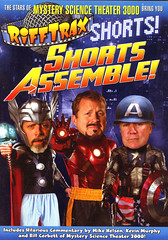 Rifftrax-Shorts-Assemble! (Count_Strad) Tags: movie dvd bluray rifftrax badmovie filmcrew horror action comedy drama blockbustervideo rules
