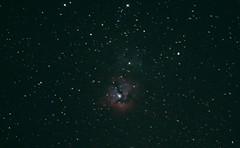 M20 Triffid Nebula (OPMmmGroup) Tags: sun moon galaxy galaxies telescope reflector refractor newtonian dobsonian eq mount goto celestron vx solar system nebula star stars cluster globular astronomy astroimaging astrophotography planets planet deep space m20 triffid m44 behive m24 cloud