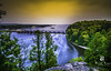 Starved Rock State Park (Samrat_Banerjee) Tags: landscape nature natural world photograph water waterfall dam river trees rock overlook golden hour sunset greenery sky globe scenery mountain canyon travel earth portraits globewanderer nightscape marvelshotz sony a7riii zeiss 1635 f4 long exposure discoverglobe earthofficial