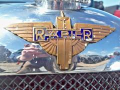 439 Rapier (Hammersmith) Badge - History (robertknight16) Tags: lagonda british 1930s rapier sportscar ashcroft hammersmith silverstone vscc badge badges automobilia