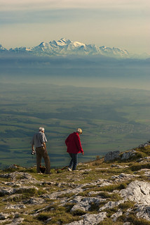 Mont Blanc taken from the Chasseron . Canton of Vaud , Switzerland. No. 28
