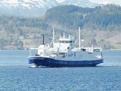 """""""Romsdal"""" (OlafHorsevik) Tags: ferge ferga ferry ferja ferje fjord1 e39 halsa kanestraumen romsdal"""