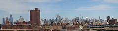 Panorama of looking towards Midtown from Brooklyn Bridge, New York City (iainh124a) Tags: iainh124a nyc ny bigapple manhattan sony sonycybershot dschx90 dschs90v cybershot dx90 dx90v
