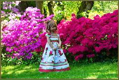 Tivis Traumstunde im Park ... (Kindergartenkinder 2018) Tags: gruga grugapark essen azaleen kindergartenkinder tivi annette himstedt dolls blume garten