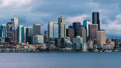 Seattle (ValeTer_) Tags: skyline cityscape city metropolitan area urban skyscraper metropolis daytime tower block sky nikon d7500 seattle usa wa washington state washingtonstate