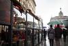 Milano Street Walking - Cafe Life (In.Deo) Tags: milano lombardia italy street umbrella rain
