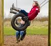 Tyre (PaulEBennett) Tags: greatnotley essex swing tyre children