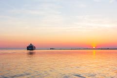On To The Horizon (JoskeBer) Tags: ship netherlands boot westerschelde eos60d 1585 avond nederland boat canon evening zee sea
