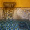 vintage fountain (msdonnalee) Tags: fountain fuente mexico tile decay stain water agua mexicantile waterstain messico mexiko mexique fotosdesanmigueldeallende talavera メキシコ