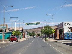 Banner 4/30/2018 (THE RANGE PRODUCTIONS) Tags: smalltownsouthwest sierracountynm southwestus truthorconesquencesnm torc nmtrue nm newmexico desert town downtown