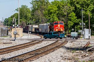 CN 2682 | GE C44-9W | NS Memphis District West End