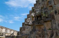 The stones of ancient Uxmal / Камни древнего Ушмаля (Vladimir Zhdanov) Tags: travel mexico sky architecture cloud maya yucatan uxmal pyramid ruins