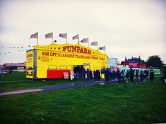 The Fun Fair but the Weathers not Fun (spjwhite20141) Tags: funfair southeastlondon se18 woolwichcommon plumstead woolwich