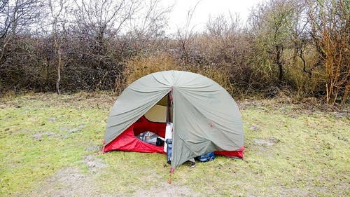 Camping on Brouwersdam