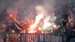 BOG06448 (anton.bogodvid) Tags: sonya7m2 beroflex beroflex500mmf8 football ukraine dinamo shakhtar stadium fire fireshow fan fans cup