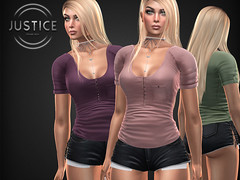 JUSTICE ANGIE SHIRT ([:.UNDERGROUND & JUSTICE.:]) Tags: secondlife fashion avatar virtualworld 3d 2ndlife maitreya slink physique hourglass belleza venus isis freya