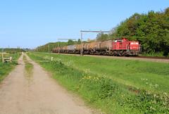 DB Cargo 6417 @ Fluitenberg (Hoogeveen) (Sicco Dierdorp) Tags: db dbc cargo serie6400 ketelwagen keteltrein unitcargo onnen kijfhoek hoogeveen meppel fluitenberg