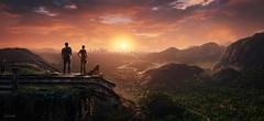 Happy End (~Scimo~) Tags: landschaft sonnenuntergang wolken himmel sonne screenshot ps4 horizont uncharted happy panorama sunset landscape digital sun sky clouds horizon