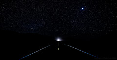 Just Up Ahead (philipleemiller) Tags: landscape stars nightphotography d800 bigsur california pacificcoast darksky jupiter
