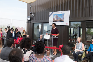 May 10, 2018 Portner Flats Ribbon Cutting