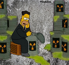 kim jong un north korea eating nuclear bomb test site by pandorco (Pandorco) Tags: kim jong un north korea nuclear funny
