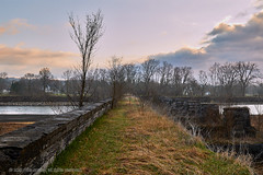 2018-04-28 12-27-58 (_MG_3046) (mikeconley) Tags: johnstown newyork eriecanal aqueduct bridge canal ruin schoharie sunrise fonthunter usa