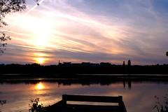Sunset at Kings Mill (Lee M Wyatt) Tags: suttoninashfield ashfield nottinghamshire may 2018 spring summer evening sunny landscape sunset sun reflections kingsmillreservoir water