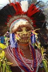 Portrait au Goroka show (michel David photography) Tags: portrait goroka show papua newguinéa tribe