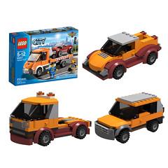 60017_3 ALT BUILDS (KEEP_ON_BRICKING) Tags: legocity lego city custom moc mod set legoset legomoc car vehicle 4x4 suv truck pickup amazing awesome keeponbricking