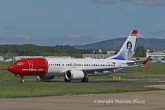 B737 MAX8 EI-FYG NORWEGIAN 1 (shanairpic) Tags: jetairliner passengerjet b737 boeing737 max8 shannon irish norwegian eifyg