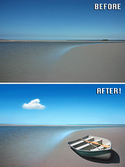 Before After - Boat - Ben Heine Photography (Ben Heine) Tags: beforeafter benheinephotography photography nature landscape before after photoediting editing retouching photoretouching objectremoval colorcorrection photocorrection composition restoration photorestoration masking clippingpath clipping mattepainting retouche retouchephoto photographie foto fotografie