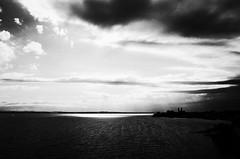 Lake Constanze (stefankamert) Tags: stefankamert lakeconstance bodensee lake light clouds mood grain friedrichshafen noir blackandwhite blackwhite noiretblanc ricoh gr grii landscape water sun sky