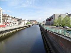 Puente Pont Roi Baudouin rio Sambre Charleroi Belgica (Rafael Gomez - http://micamara.es) Tags: puente pont roi baudouin rio sambre charleroi belgica valonia bélgica