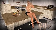 Belle (Sannita_Cortes) Tags: moz aphroditeshop entangledposes fitmeshplaza fitmeshplaza50discountevent ikon kc kccouture lelutka lumae mozdesigns swank tableauvivant tonic tonicfine body decorating furnituredecor heels meshbody poses skirtoutfits tops virtual virtualworld virtualfashion fashion female virtualdecoration decoration kitchen