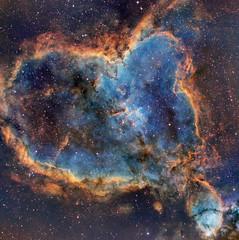IC 1805 - Heart Nebula (macnmotion) Tags: astrophotography nebula narrowband