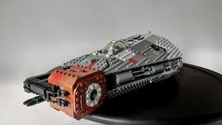 Mercenary Transport, The Ferrum Dawn MOC