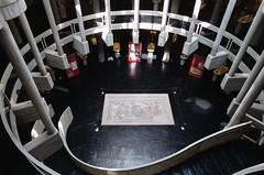 Luis Arranz. Museo de Palencia #5 (Ximo Michavila) Tags: luisarranz museo palencia museum spain archaeology architecture archdaily archidose archiref interior perspective culture concrete stairs dark ximomichavila mosaic curve