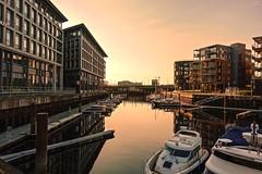 Solnedgang ved Rosenborgdammen Trondheim (jonarnefoss2013) Tags: sonyrxmoments sunset river solnedgang rx100 rx100v sonyrx100v rosenborg trøndelag nidelva trondheim