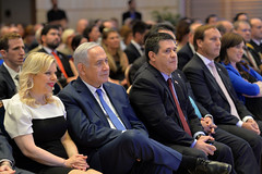 PM Netanyahu with President of Paraguay Horacio Cartes (Prime Minister of Israel) Tags: jerusalem israel isr