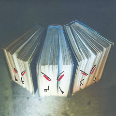 Bashed Books (LittleFears) Tags: fiction flashfiction writing shortstory humour humor funny art illustration doodle
