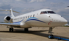 Bombardier  Global Express ~ N989RJ (Aero.passion DBC-1) Tags: spotting 2010 dbc1 david biscove aeropassion avion aircraft aviation plane airport lbg bourget bombardier global express ~ n989rj