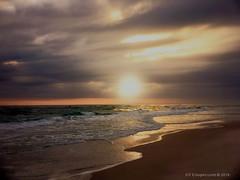 Bronze Sunset (cooper.gary) Tags: iphoneography beach sunset mindfulness moment surf sand reflection moods zen tones bronze