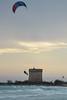 Scalando la torre - He wanted to climb the tower. (sinetempore) Tags: torrelapillo salento mare sea ionio onde waves leduneportocesareo portocesareo kitesurf kitesurfing street uomo man vento wind nuvole clouds scalandolatorre hewantedtoclimbthetowe salto jump