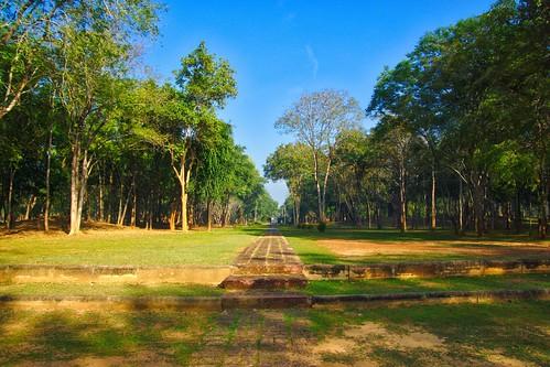 Prasat Muang Singh open air museum in Kanchanaburi, Thailand