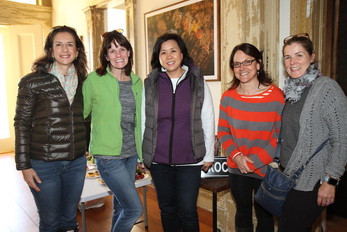 Cathy Rosenstock, Michelle Dudley, Cathy Lee, Ann Mottola, and Ann Magalhaes