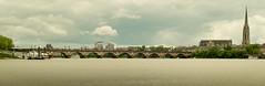 Pont de Pierre - Bordeaux (Cyril Ribault) Tags: 33 bordeaux garonne gironde aquitaine nouvelleaquitaine france pentax kr pont bridge riviere flauve river vivitar series1 28105
